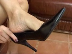 Heels, Secretary fuking in high heels