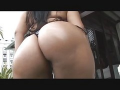 Brazil, Big Ass, Big ass show her body