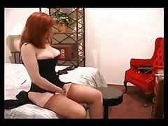 Stockings, Redhead, Stockings solo