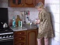 Blowjob, Kitchen, Banged in the kitchen