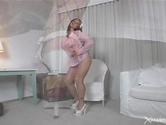 Heels, Stockings, High heels creampie