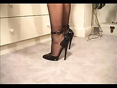 Stockings, Bbw high heels