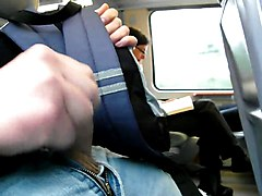 Masturbation, Jerking, Train, Groped and molested on train