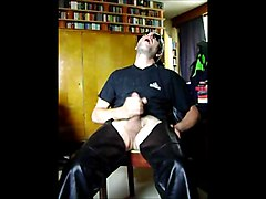 Leather, Masturbation, Jerking