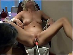 Husband, Hitachi magic wand inserted in pussy