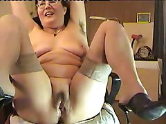 Hairy, Real mom son fucking on cam