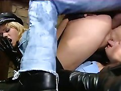 Leather, Japan group sex