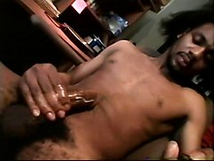 Ebony, Mistress expands male urethra by plug
