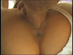 Daughter give blowjob to step dad