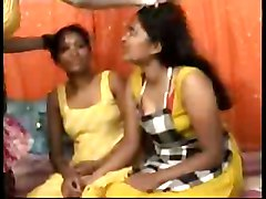 Indian, Lesbian, Threesome, Indian school mms
