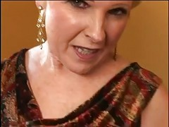 Granny, Blonde, Busty blonde julia ann is a naughty housewife