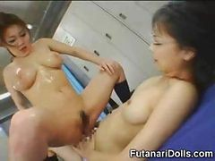 Asian, Futanari, Teen, Squirt, 3d futanari cartoon