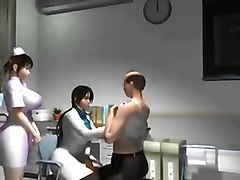 3D, Doctor, Nurse, 3d gay centaur