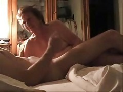 Granny, Caught, Mom caught masterbate son with her panty