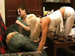 Teen, Russian, Two sexy girls hardcorebrutalised