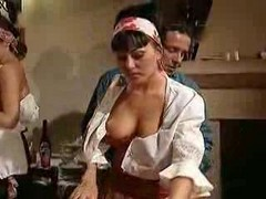 Orgy, Spanish, Spanish girl hidden cam massage
