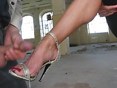 Heels, High heels ballbust