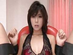 Asian, Gangbang, Japanese, 2 japanese girl suck guy