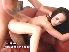 Creampie, Squirt, Lesbian squirting mistress rough