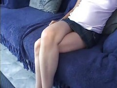 Goth, Pregnant, Skinny tattoo girl blowjob