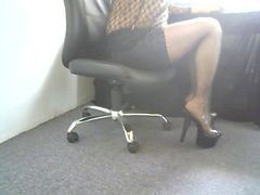 Upskirt, Heels, High heel worship