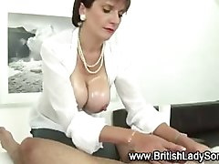 Femdom mature lady sonia face sitting