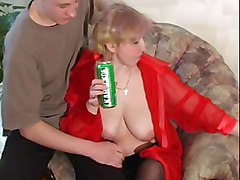 Blonde, Russian, Blonde girl getting tied to table mouth gag pussy fucked with dildo mouth gagged with sausages on th