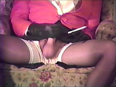 Leather, Gloves, Ffm threesome with nurses in latex lingerie and gloves
