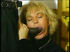 Blonde, Black, German, Milf, German blonde milf sauna