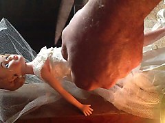 18, Doll, Wedding, 3d futanari bride