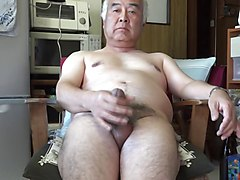 Kitchen, Old Man, Japanese old man lick schoolgirl pussy