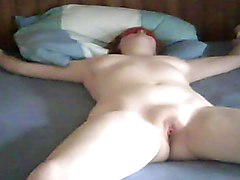 Bottle, Sister masturbates with her brother and teases him with pussy