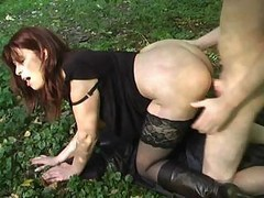 Milf, Outdoor, Sexy mom abducted outdoors