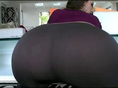 Panties, Ass, Tight, Big Ass, The big ass girl shaking it