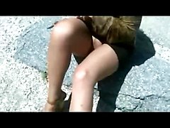 Panties, Upskirt, Filipina celebrity uncensored upskirt