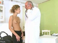 Doctor, Teen, Cute, Pregnant fuck by the doctor