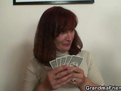 Granny, Strip, Stripping naked
