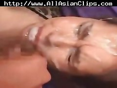 Asian, Chinese, Swallow, Cumshot, Smooth asian