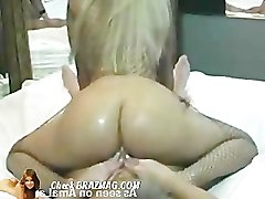 Blonde, Riding, Chloe amour 69 machine