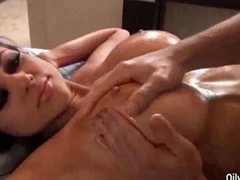 Massage, Oil, Ass, Audrey bitoni naughty america