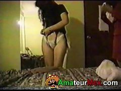 Whore, Wife, Threesome, Wife stocking gangbang