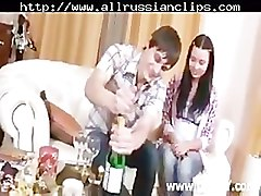 Couple, Swallow, Russian, Cumshot, Russian wife