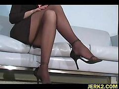 Office, Stockings, Nylon stocking milfs