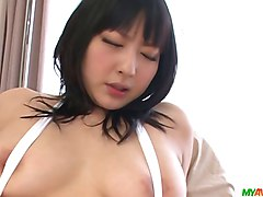 Bus, Japanese girl masturbation solo public