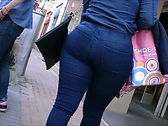 Jeans, Teen, Ass, Big Ass, Wet jeans