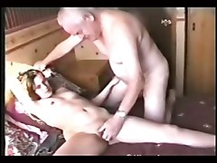 Grandpa, Creampie by grandpa