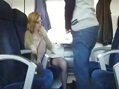 Bus, Public, Milf, Train, Teen hoodrat gets train ran on her in the hood