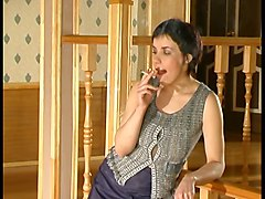 Russian, Russian mom 7 mature with a young man long