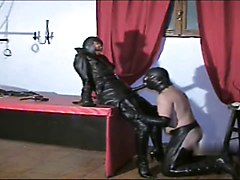 Leather, Strapon, Mistress sophie dee leather