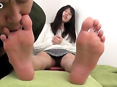 Asian, Fetish, Slave, Arab student fucked by her science teacher in room